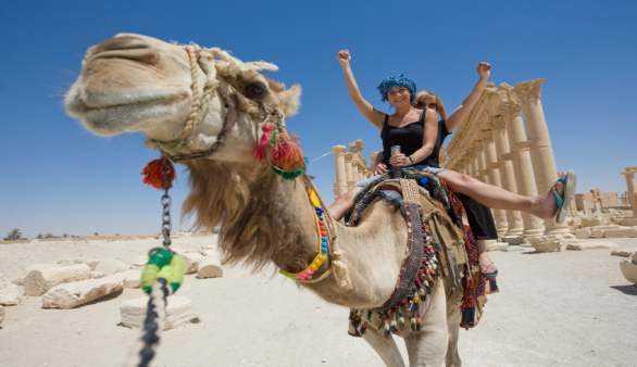 Kamelreiten auf Gran Canaria